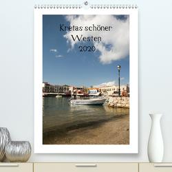 Kretas schöner Westen (Premium, hochwertiger DIN A2 Wandkalender 2020, Kunstdruck in Hochglanz) von Streiparth,  Katrin