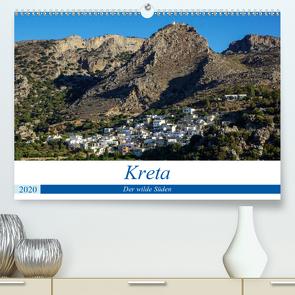 Kretas wilder Süden (Premium, hochwertiger DIN A2 Wandkalender 2020, Kunstdruck in Hochglanz) von Krohne,  Reinhard