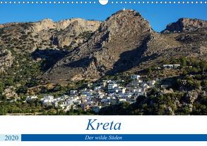 Kretas wilder Süden (Wandkalender 2020 DIN A3 quer) von Krohne,  Reinhard