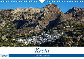 Kretas wilder Süden (Wandkalender 2020 DIN A4 quer) von Krohne,  Reinhard