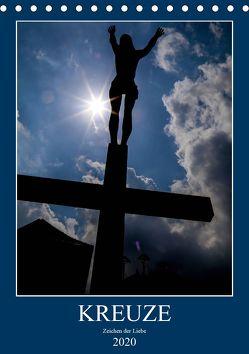 Kreuze – Zeichen der Liebe (Tischkalender 2020 DIN A5 hoch) von Sock,  Reinhard