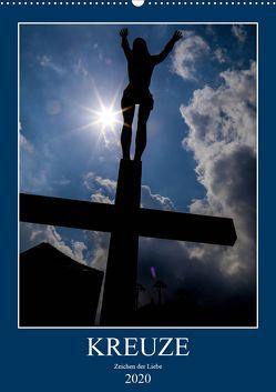 Kreuze – Zeichen der Liebe (Wandkalender 2020 DIN A2 hoch) von Sock,  Reinhard