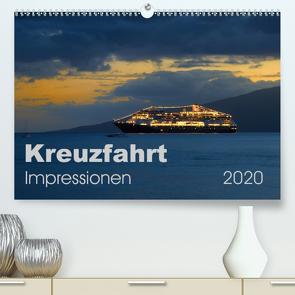 Kreuzfahrt Impressionen (Premium, hochwertiger DIN A2 Wandkalender 2020, Kunstdruck in Hochglanz) von Bade,  Uwe