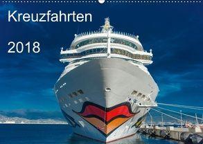 Kreuzfahrten 2018 (Wandkalender 2018 DIN A2 quer) von strandmann@online.de