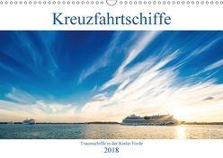 Kreuzfahrtschiffe 2018 (Wandkalender 2018 DIN A3 quer) von Tuschy,  Micha