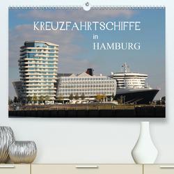 Kreuzfahrtschiffe in Hamburg (Premium, hochwertiger DIN A2 Wandkalender 2021, Kunstdruck in Hochglanz) von Brix - Studio Brix,  Matthias