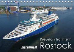 Kreuzfahrtschiffe Rostock (Tischkalender 2019 DIN A5 quer) von Watsack,  Carsten