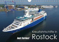Kreuzfahrtschiffe Rostock (Wandkalender 2019 DIN A4 quer) von Watsack,  Carsten