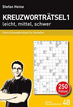 Kreuzworträtsel 1 leicht, mittel, schwer von Heine,  Stefan