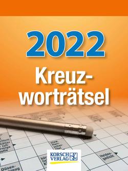 Kreuzworträtsel 2022 von Korsch Verlag