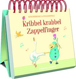 Kribbel krabbel Zappelfinger von Ries,  Johanna