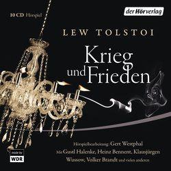 Krieg und Frieden von Kegel,  Marianne, Tolstoi,  Lew, Westphal,  Gert, Wussow,  Klausjürgen