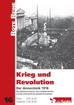Krieg und Revolution von Trausmuth,  Gernot