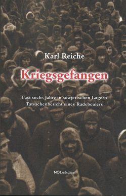 Kriegsgefangen von Reiche,  Karl