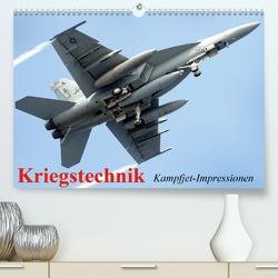 Kriegstechnik. Kampfjet-Impressionen (Premium, hochwertiger DIN A2 Wandkalender 2020, Kunstdruck in Hochglanz) von Stanzer,  Elisabeth