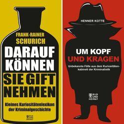 Krimi-Kuriositäten Sparpaket von Kotte,  Henner, Schurich,  Frank-Rainer