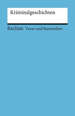 Kriminalgeschichten von Finckh,  Eckhard