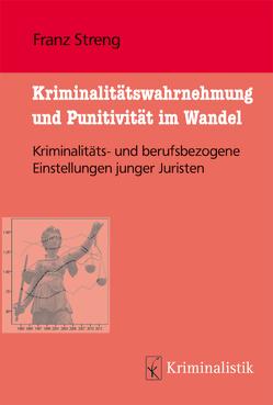 Kriminalitätswahrnehmung und Punitivität im Wandel von Streng,  Franz