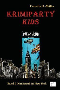 Krimiparty Kids – Band 1 von H.-Müller,  Cornelia