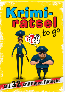 Krimirätsel to go von Schwarz,  Emil