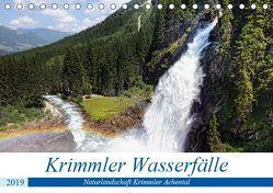 Krimmler Wasserfälle – Naturlandschaft Krimmler Achental (Tischkalender 2019 DIN A5 quer) von Frost,  Anja