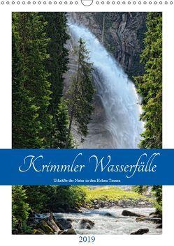 Krimmler Wasserfälle – Urkräfte der Natur in den Hohen TauernAT-Version (Wandkalender 2019 DIN A3 hoch) von Frost,  Anja