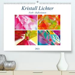 Kristall Lichter (Premium, hochwertiger DIN A2 Wandkalender 2021, Kunstdruck in Hochglanz) von by Sylvia Seibl,  CrystalLights