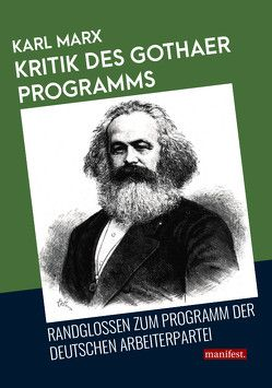Kritik des Gothaer Programms von Marx,  Karl
