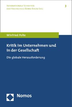 Kritik im Unternehmen und in der Gesellschaft von Polte,  Winfried