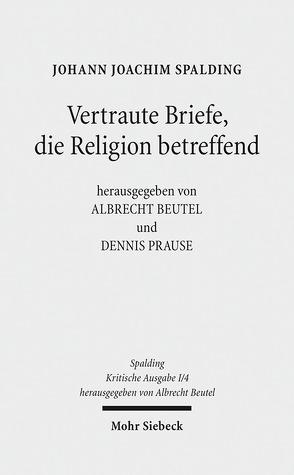 Kritische Ausgabe von Beutel,  Albrecht, Prause,  Dennis