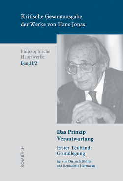 Kritische Gesamtausgabe der Werke von Hans Jonas – Philosophische Hauptwerke: Bd. I/2a von Böhler,  Dietrich, Herrmann,  Bernadette