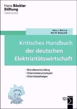 Kritisches Handbuch der deutschen Elektrizitätswirtschaft von Bontrup,  Heinz-J., Marquardt,  Ralf M