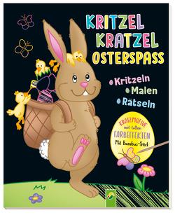 Kritzel-Kratzel-Osterspaß von Jones,  Josy