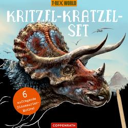 Kritzel-Kratzel-Set (Triceratops) von Raimund Frey