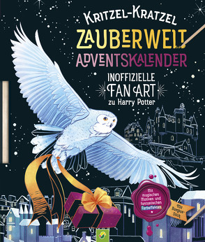 Kritzel-Kratzel Zauberwelt Adventskalender von Alessandra Fusi, Katharina Bensch