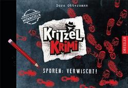 Kritzel-Krimi 2. Spuren: Verwischt! von Ottermann,  Doro, Schneider,  Frauke