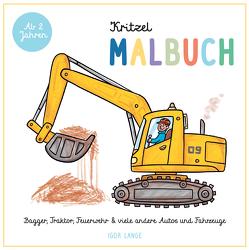 Kritzel Malbuch von Lange,  Igor