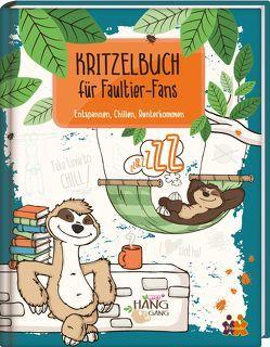 Kritzelbuch für Faultier-Fans von Friedrich,  Cora