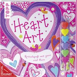 KritzelKunst: Heart Art von Clayton,  Charlotte, Fahy,  Ellie, Mercer,  Gabrielle