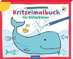 Kritzelmalbuch für Klitzekleine von Raab,  Ann Cathrin, Schneefuß,  Trixi, Sommer,  Eleanor