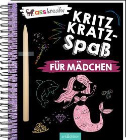 Kritzkratz-Spaß für Mädchen