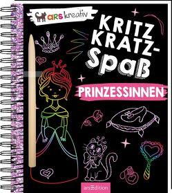 Kritzkratz-Spaß Prinzessinnen
