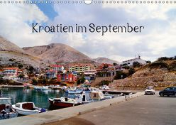 Kroatien im September (Wandkalender 2019 DIN A3 quer) von Schneller,  Helmut