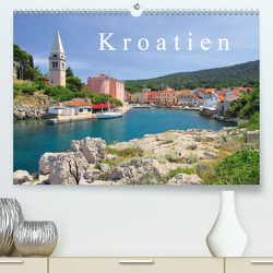 Kroatien (Premium, hochwertiger DIN A2 Wandkalender 2021, Kunstdruck in Hochglanz) von LianeM