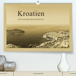 Kroatien (Premium, hochwertiger DIN A2 Wandkalender 2021, Kunstdruck in Hochglanz) von Kirsch,  Gunter
