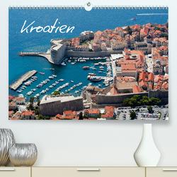 Kroatien (Premium, hochwertiger DIN A2 Wandkalender 2020, Kunstdruck in Hochglanz) von Scholz,  Frauke