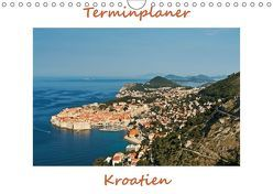 Kroatien, Terminplaner (Wandkalender 2018 DIN A4 quer) von Kirsch,  Gunter