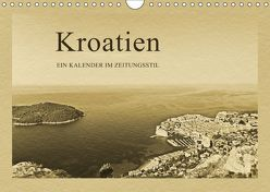Kroatien (Wandkalender 2019 DIN A4 quer) von Kirsch,  Gunter