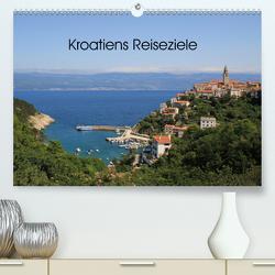 Kroatiens Reiseziele (Premium, hochwertiger DIN A2 Wandkalender 2021, Kunstdruck in Hochglanz) von Knof-Hartmann,  Claudia