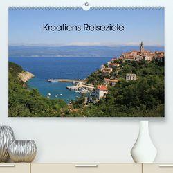 Kroatiens Reiseziele (Premium, hochwertiger DIN A2 Wandkalender 2020, Kunstdruck in Hochglanz) von Knof-Hartmann,  Claudia